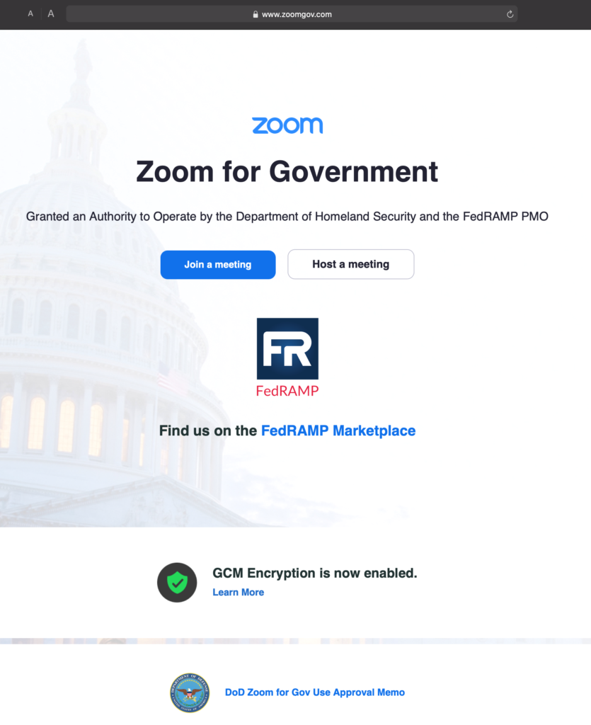 The Jury Returns - Trial by Webex but Not Zoom - Zoom for Government